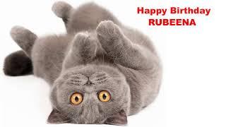 Rubeena  Cats Gatos - Happy Birthday