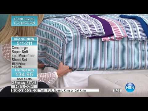 HSN | Concierge Collection Bedding 02.26.2017 - 05 AM