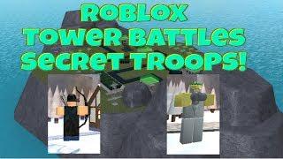 Roblox Tower Battles New Secret Troops! Ft.Planet3arth,19wongs4,JoshMats!