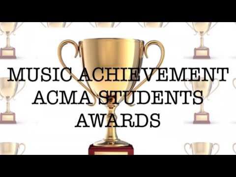 ACMA Creation - Music Achievement Acma Student Award
