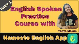 English Spoken Practice Course with Nameste English App PART1 screenshot 2