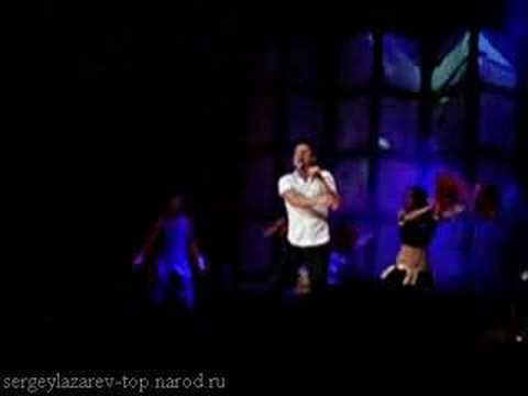 Сергей Лазарев live from novosibirsk. tv show tour