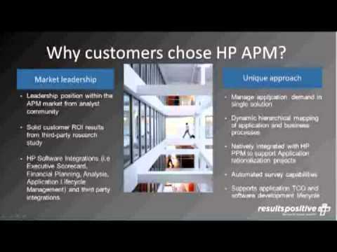 HP Application Portfolio Management (HP APM) SaaS