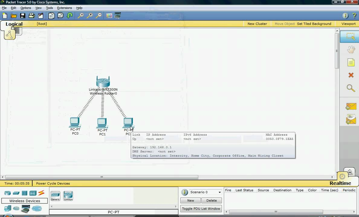 Free Cisco Packet Tracer 5.3.3 download