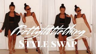 MY SISTER DOES MY PRETTYLITTLETHING SHOP - AYSE AND ZELIHA