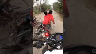 Live Dangerous Accident In Front Of Ns200 Bs6 | I Was Shock After 😨