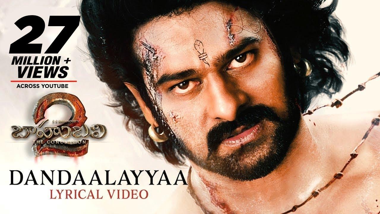 Dandalayya Full Song With Lyrics - Baahubali 2 Songs | Prabhas, MM Keeravaani, Kaala Bhairava