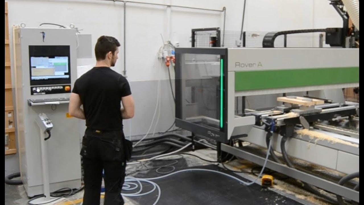 Video Resume Wood Machinist CNC