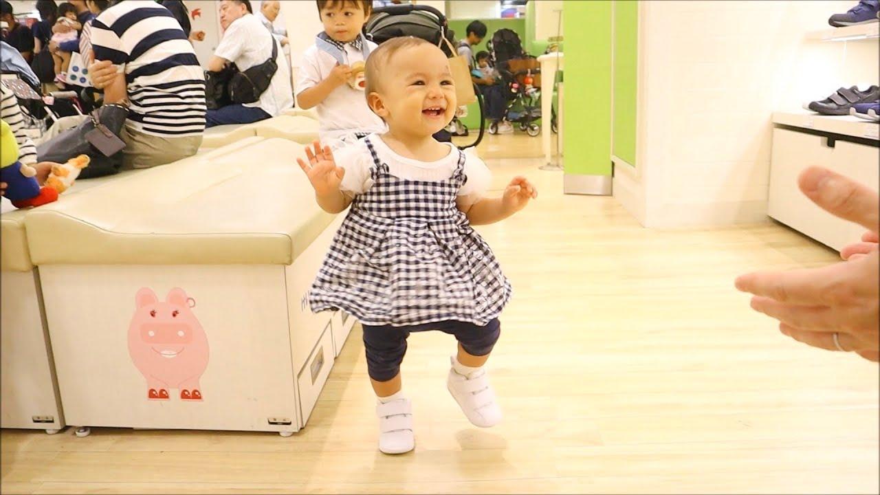 【ドキドキくっく👟】1歳児のファーストシューズデビュー!【子育てVlog】