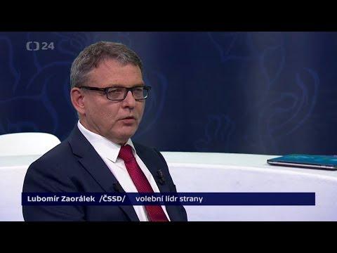 #4 Předvolební rozhovor: Lubomír Zaorálek /ČSSD/