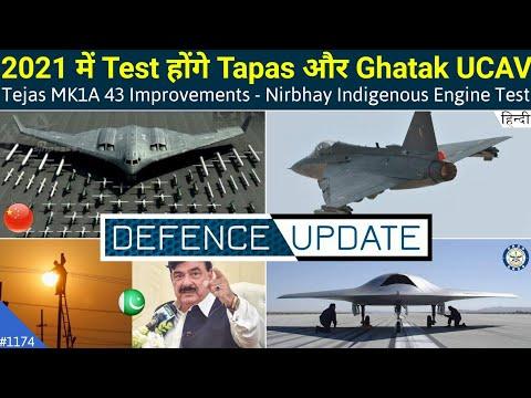 Defence Updates #1174 - Tejas MK1A Improvements, Ghatak UCAV