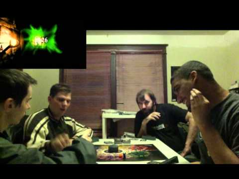 BoardGame: Demonskunk, Sam, Mike and Ben play AtmosFear