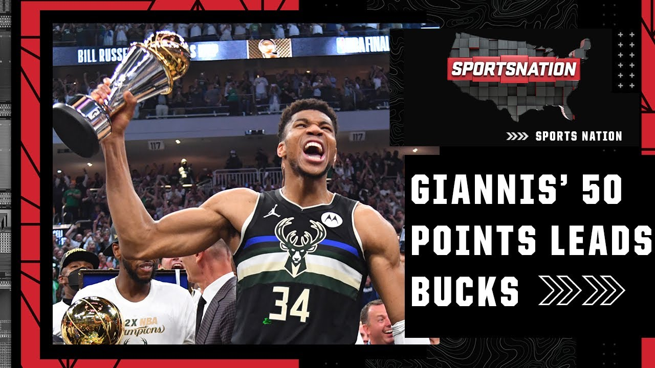 Download Recapping Giannis' legendary 50-point performance to win the Bucks the NBA title | SportsNation