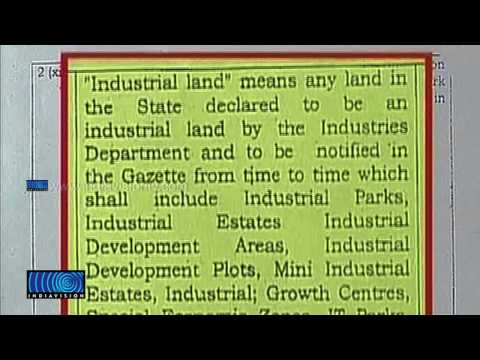 Amendment Of Paddy Land Conservation Is Demanded By Industrial Dept, Minutes With Indiavision