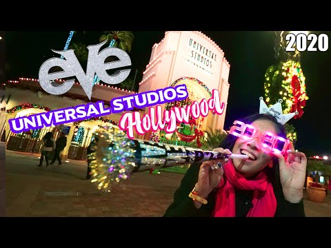 Awesome VIP Experience at Universal Studios Hollywood 2020 New Years Celebration! EVE Event 2019
