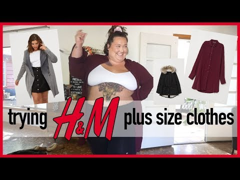 Trying H&M Plus Size Clothing HAUL!!!