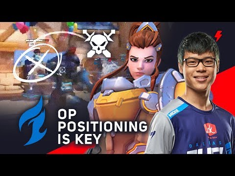 Pro Brigitte Positioning - Mickie\'s Trick to Carrying Dallas Fuel in Overwatch League