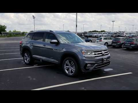 2018 VW Atlas 3.6 SE w/Technology 4Motion and R-Line Pkg.