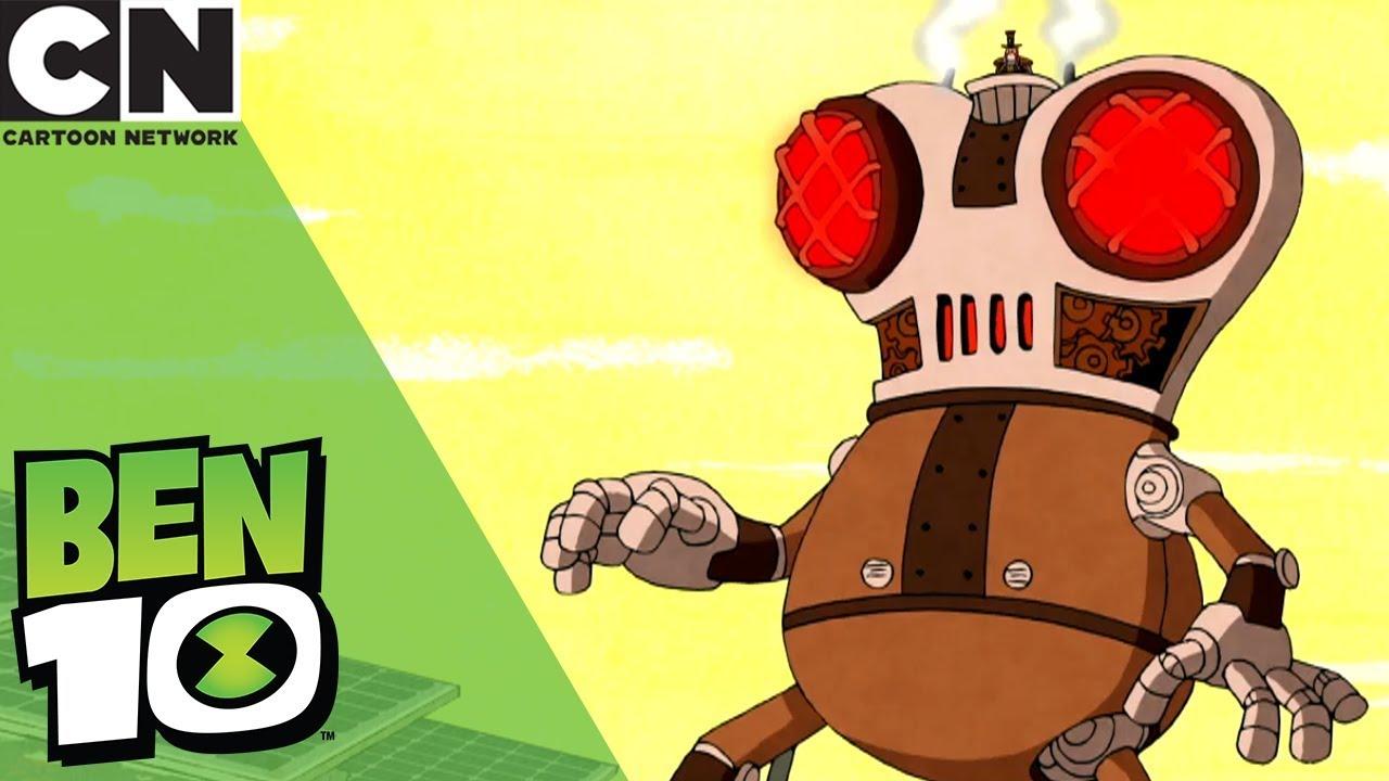 ben 10 giant robot