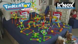 Tinkertoy: 65 Piece Essentials And 100 Piece Essentials Building Sets