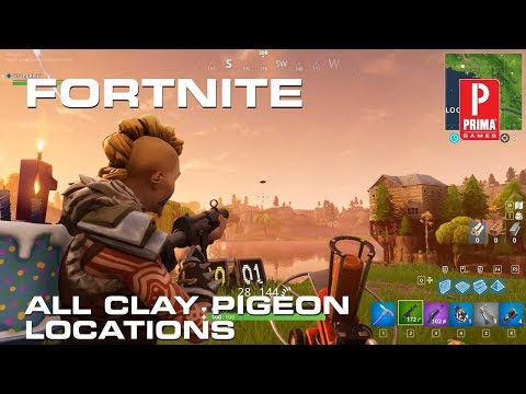 Fortnite Clay Pigeons - All Clay Pigeon Locations