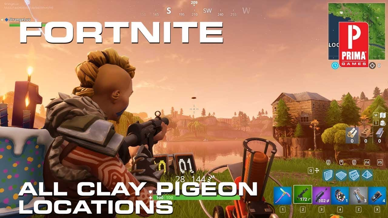 Clay Duckies Fortnite Fortnite Clay Pigeons All Clay Pigeon Locations Tips Prima Games