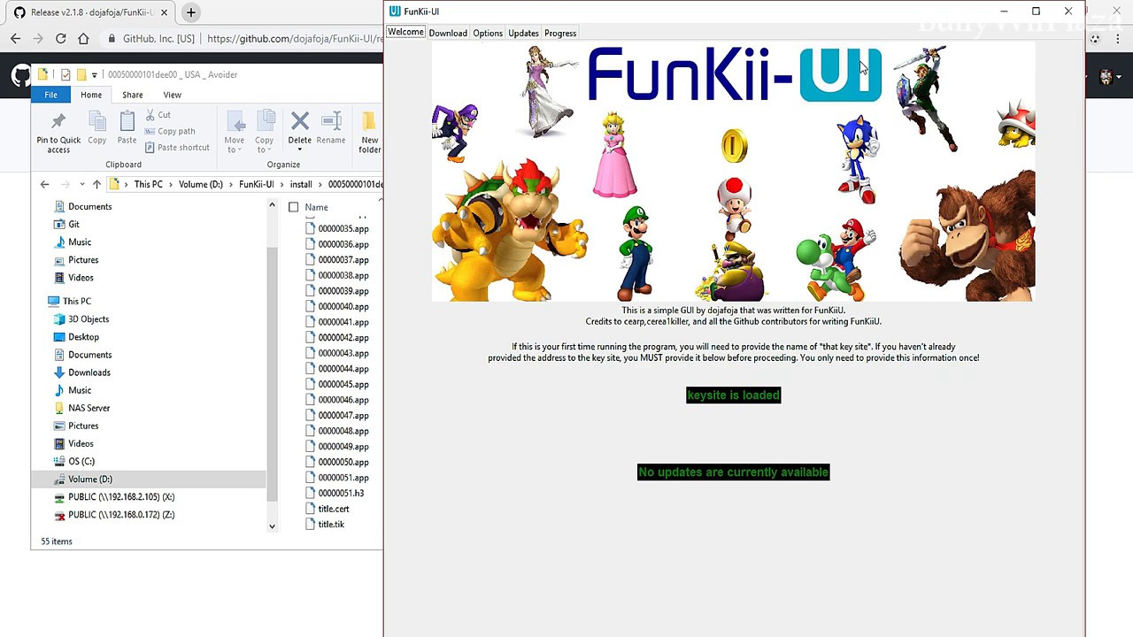 REMOVED BY AUTHOR] Wii U USB Helper Alternative: FunKii_UI