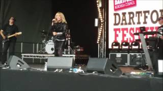 Toyah at the Darford  Festival 2016