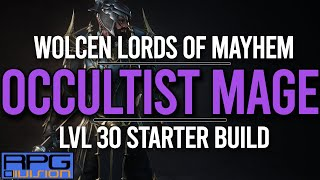 Occultist Mage Starter Build - WOLCEN LORDS OF MAYHEM