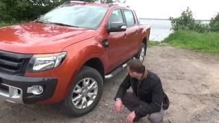 видео Тест-драйв пикапов: Ford Ranger (Форд Рейнджер), Volkswagen Amarok (Фольксваген Амарок) и Nissan Navara (Ниссан Навара)
