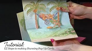 EZ Steps to Create Pop Up Scene Cards - Monkeying Around Collection