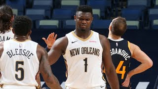 Ingram, Zion 26 Pts Hold Off Late Jazz Rally! 2020-21 NBA Season