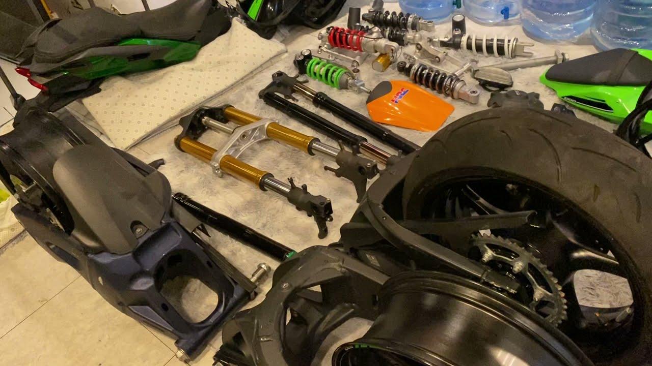 Phụ tùng Moto PKL tháo xe đầy đủ các hảng p1