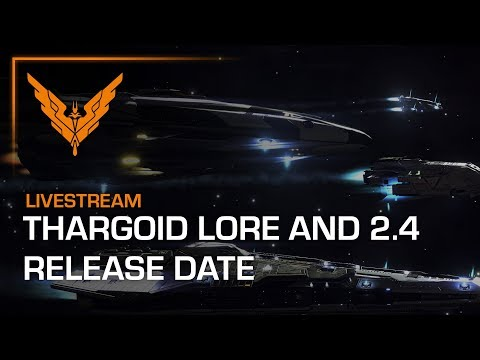 Thargoid Lore Run and 2.4 Release Date Livestream