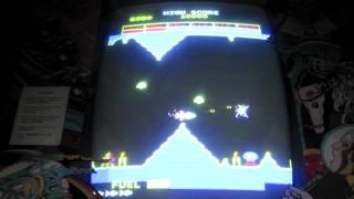 Stern Scramble Arcade Game Review - Konami Gradius Prequel - 1981