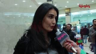 بالفيديو.. فاطمة ناصر: أتمنى 'اختيار إجباري' يعجب الجمهور
