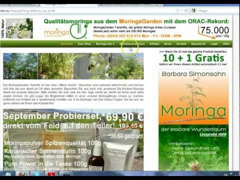 Moringa Oleifera Wunderbaum Das neue Buch/Ebook vom Moringa Garden