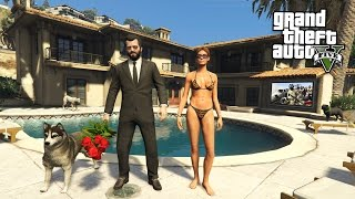GTA 5 Real Life Mod #42 - BUYING A NEW HOUSE!! (GTA 5 Mods)