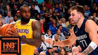 Los Angeles Lakers vs Dallas Mavericks - 1st Qtr Highlights   November 1, 2019-20 NBA Season