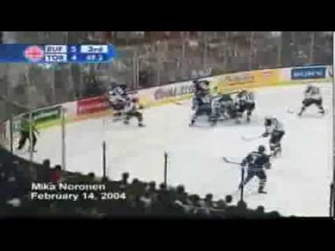 A montage of goals scored by goalies
