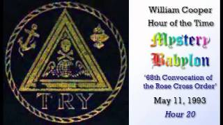 Mystery Babylon  Hr #20 68th Convocation of the Rose Cross Order