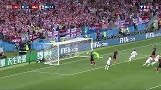 Croatie vs Angleterre : Demi final Coupe du Monde 2018 (Premier But)