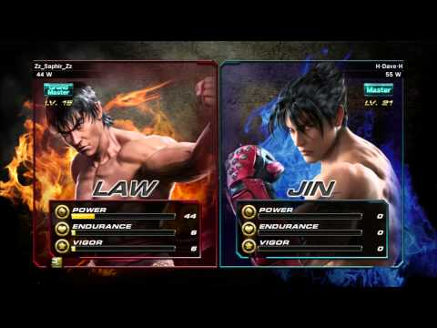 Dave plays Tekken Revolution: Part 9, No Stats - Jin and Tonic