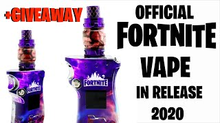Epic Games Is Releasing A FORTNITE VAPE?? Wtf! (+ VAPE GIVEAWAY)