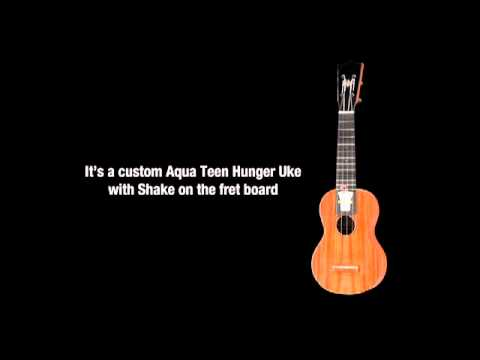 Aqua Teen Hunger Force Uke Iron Horse Instruments