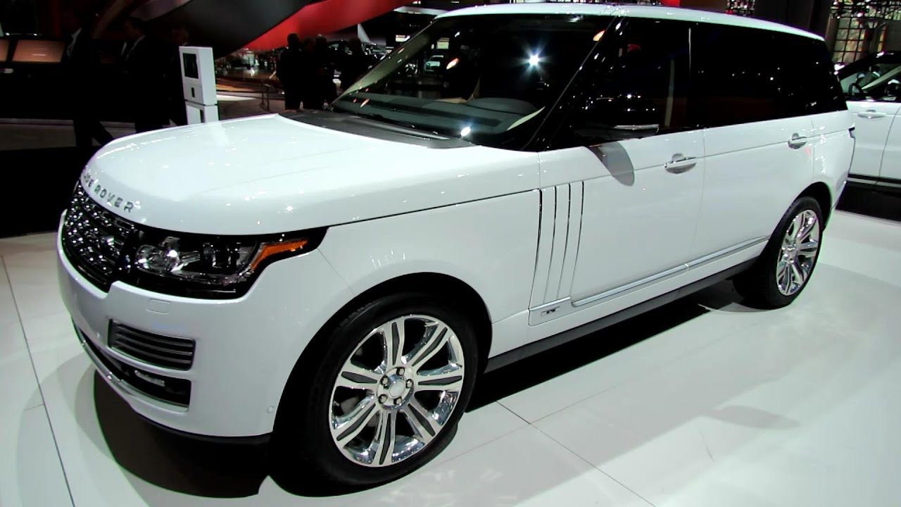2014 range rover autobiography lwb exterior and interior walkaround 2014 new york auto show