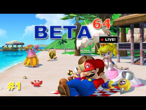 Beta64 Live - Super Mario Sunshine #1 (JFF)