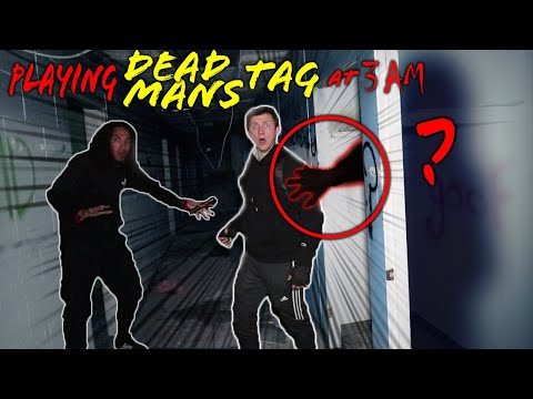 *SCARY* PLAYING DEAD MANS TAG IN AN ABANDONED FACTORY AT 3 AM! (SOMETHING ELSE FOUND US!)