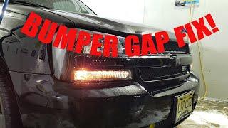 TRAILBLAZER FRONT BUMPER GAP FIX!!! - YouTubeYouTube