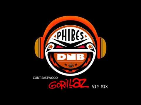 Gorillaz- Clint Eastwood Phibes DnB VIP [drum & bass remix]